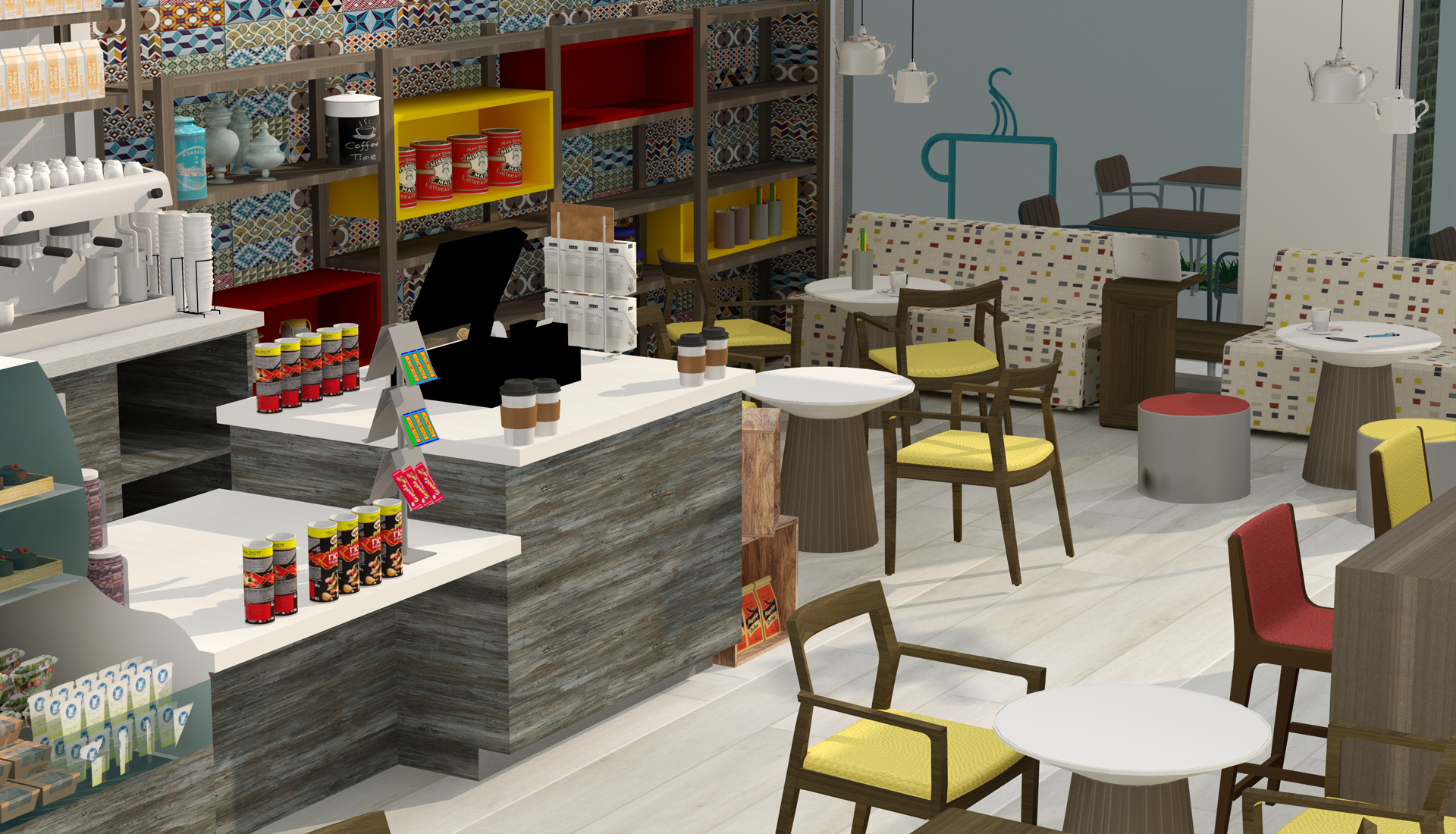 coffee shop project